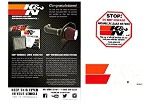 K&N純正交換エアフィルター 33-5038 CX-3 デミオ DJ3FS/DJ3AS(P3-VPS)/DJ5FS/DJ5AS(Diesel Turbo)