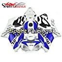Sportfairings 外装部品の適応モデル ブルーホワイト ABS 樹脂射出ホワイトレッドオートバイフェアリングキット Honda ホンダ CBR1000RR 年 2004 2005 ボディ