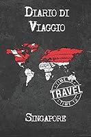Diario di Viaggio Singapore: 6x9 Diario di viaggio I Taccuino con liste di controllo da compilare I Un regalo perfetto per il tuo viaggio in Singapore e per ogni viaggiatore