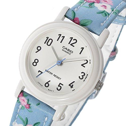 カシオ CASIO ベーシック クオーツ レディース 腕時計 LQ-139LB-2B2 ホワイト/ブルー[並行輸入品] [t-1]