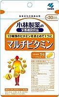 小林製薬の栄養補助食品 マルチビタミン 約30日分 30粒×3個