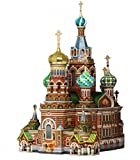 ウンブーム 1/200 ロシア サンクトペテルブルク 血の上の救世主教会 ペーパークラフト UMB110