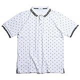 GEM BONY(ジェム・ボニー) 半袖ポロシャツ メンズ 鹿の子ポロシャツ マリンテイストM L XL メンズ