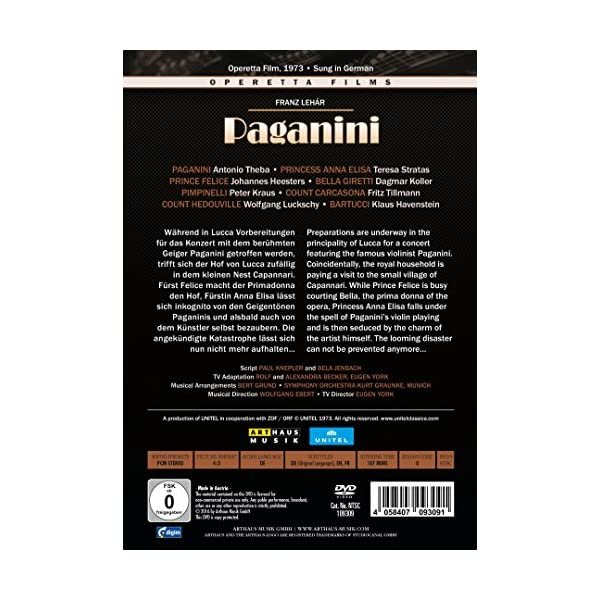 Lehar: Paganini [DVD]の紹介画像3