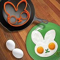 1個クリエイティブプチDejeunerの卵の金型パンケーキAnneauラパンフリットシェイパーの卵料理ドールustensilesデ料理ガジェット