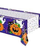 Happy Halloween Plastic Tablecloth, 84' x 54' [並行輸入品]