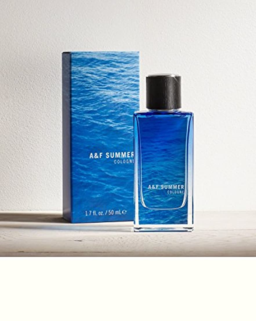 音声学宇宙電話をかけるA&F Summer (A&F サマー) 1.7 oz (50ml) Cologne (限定版) by Abercrombie & Fitch for Men