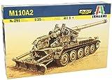 タミヤ イタレリ 1/35 ミリタリーシリーズ 291 M110A2 203mm 自走榴弾砲 39291 プラモデル