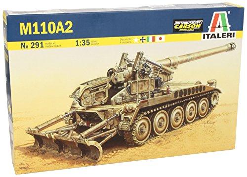 タミヤ イタレリ 1/35 ミリタリーシリーズ 291 M110A2 203mm 自走榴弾砲 39291