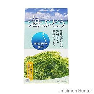 海洋深層水使用 沖縄県産 海ぶどう(60g) サングリーンフレッシュ