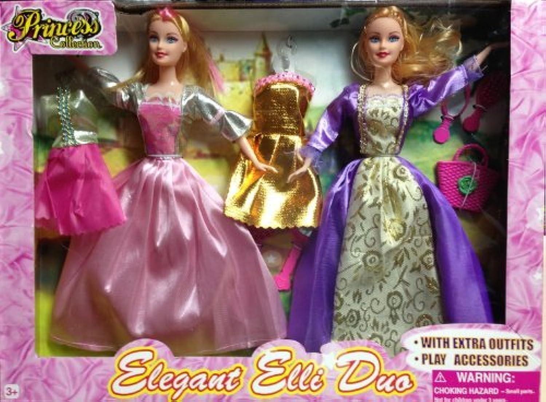 プリンセスコレクション – Elagant Elli Duo with Extra Outfits
