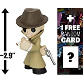 "Mysterious Stranger Perk: ~2.9"" Fallout x Funko ファンコ Mystery Minis Vinyl Figure フィギュア + 1 FREE Video Games Themed Trading Card Bundle [59743] [並行輸入品]"
