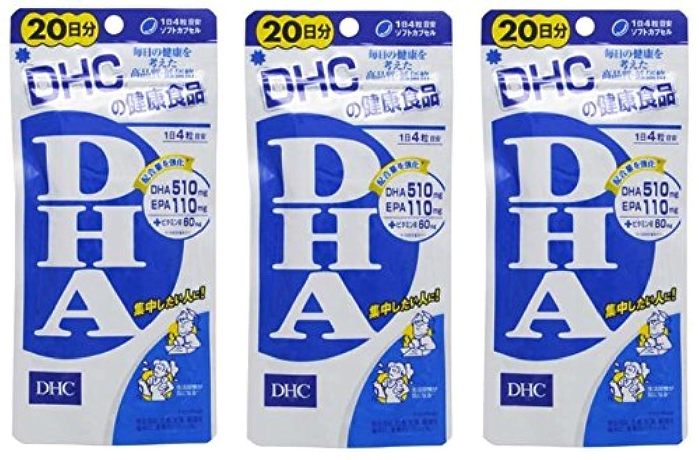 囲い高価な間欠DHCDHA20日分 × 3個セット