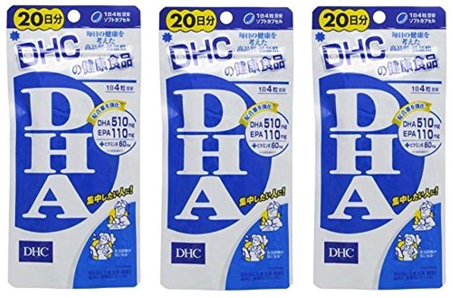 検出するレンディション資産DHCDHA20日分 × 3個セット