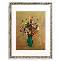 オディロン・ルドン Odilon Redon 「Fleurs de Champ」 額装アート作品