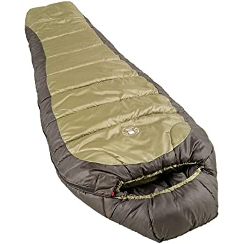 【Coleman コールマン】★大人用寝袋(マミー型) 緑 -18度まで対応★sleeping bag Mummy Style