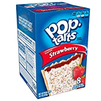 Pop-Tarts Frosted Strawberry, 14.7-Ounce, 8-Count Boxes (Pack of 12) by Pop-Tarts