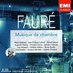 EMI フォーレ 室内楽曲集(5枚組)の商品写真
