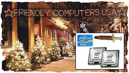 Eight Core 2006、2007年Apple Mac Pro 1.1Quad Core 3.0GHz x2Xeon CPUアップグレードキットx5365Slaed 1, 1a1186