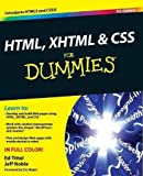 HTML, XHTML and CSS For Dummies by Ed Tittel Jeff Noble(2011-01-11)