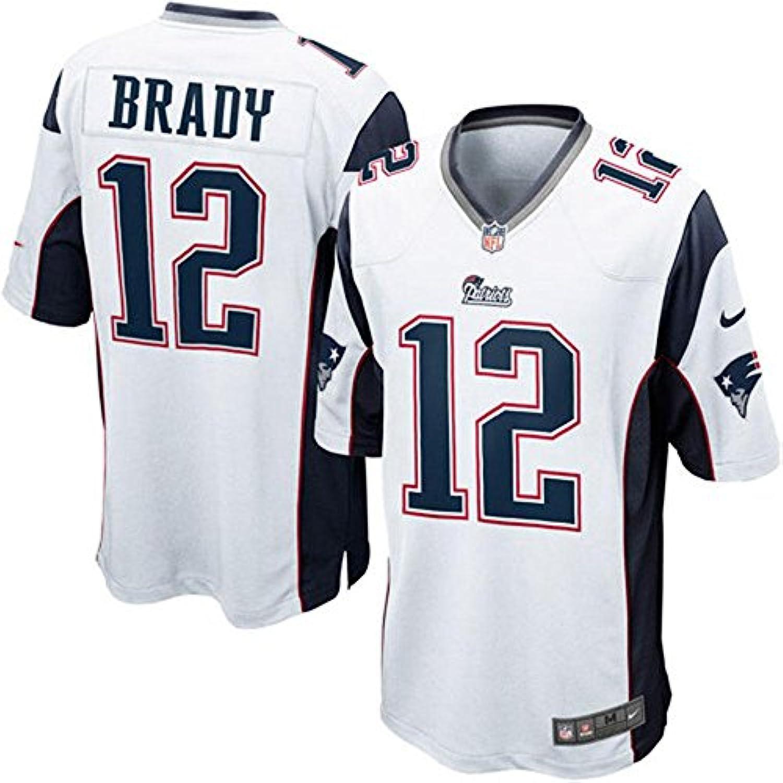 Nike(ナイキ) NFL ニューイングランド?ペイトリオッツ トム?ブレイディ Game ユニフォーム (ホワイト)