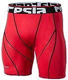 GR_S17-RDKZ-M(テスラ)TESLA コンプレッション ショートタイツ[UVカット・吸汗速乾] 夏クールギア ドライ トレ-ニング アンダーウェア ゴルフウェア【ランニング・登山・サイクリング・トレ-ニング・サッカー・スキー・スノーボード・サーフィン・ ゴルフウェア】