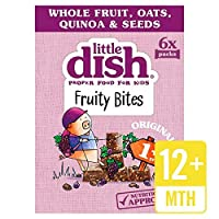[Little Dish ] 小さな皿フルーティーは、元の6×25グラムを噛みます - Little Dish Fruity Bites Original 6 x 25g [並行輸入品]