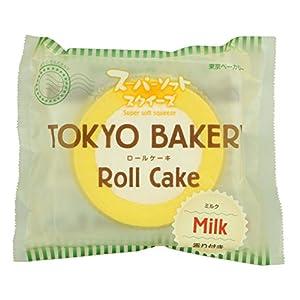 東京ベーカリー ロールケーキ スーパーソフトスクイーズ ミルク