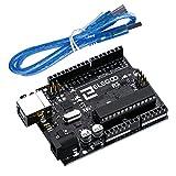 ELEGOO Arduino用コントロールボード ATmega328P ATMEGA16U2 +USBケーブル