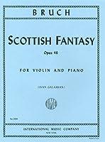 ブルッフ: スコットランド幻想曲 Op.46/ガラミアン編/インターナショナル・ミュージック社/ピアノ伴奏付バイオリン・ソロ楽譜