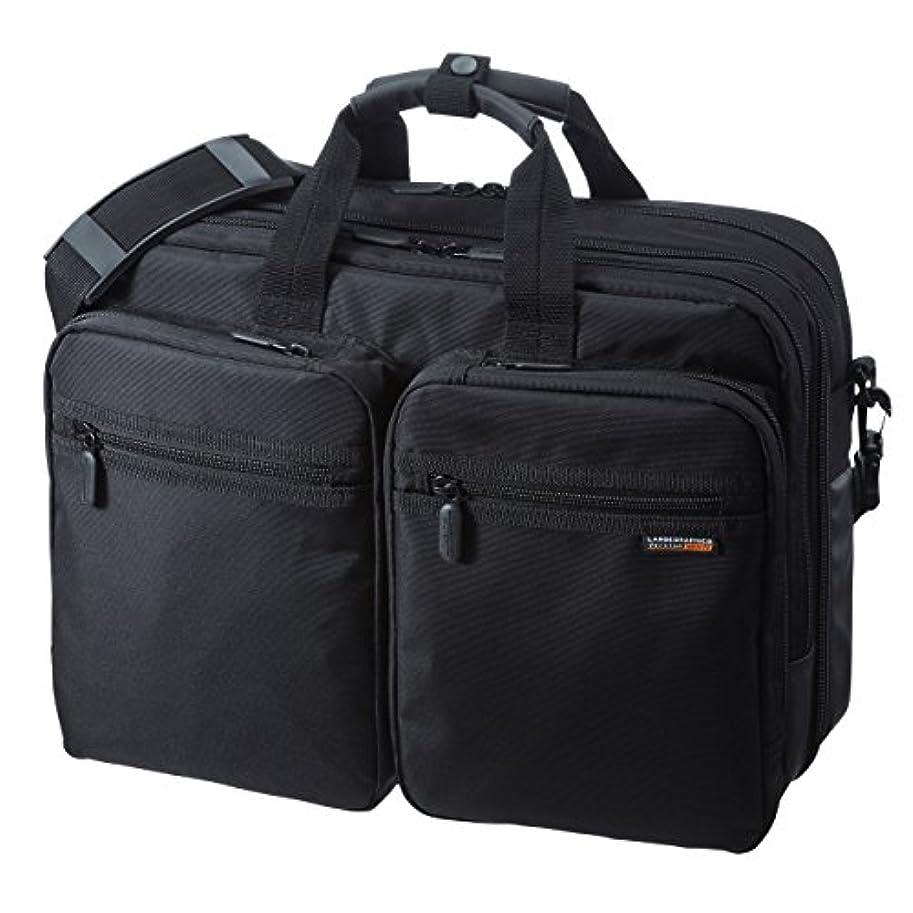 教室学んだめったにサンワサプライ 3WAYビジネスバッグ(出張用) 15.6W対応 BAG-3WAY21BK
