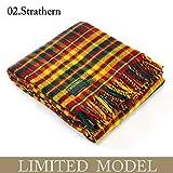 Tweedmill ツイードミル 限定カラー チェック (正規) ブランケット ラグ 大判 150x183cm (Strathern)