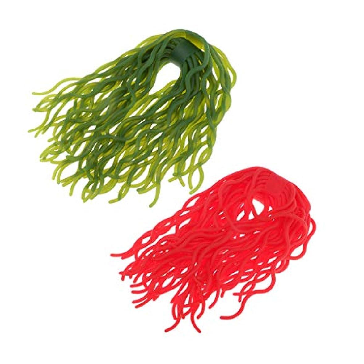 キラウエア山噴出する読み書きのできないP Prettyia 約120足 ワームボディ ルアー材料 ルアー作り フライタイイング 緑+赤