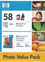 HP Photo Inkjet print cartridge 58 by HP [並行輸入品]