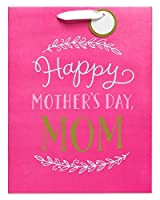 American Greetings Medium Mother's Day Gift Bag Pink Happy Mother's Day [並行輸入品]