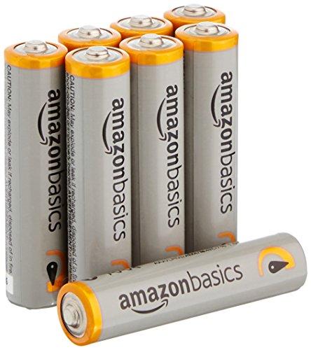 Amazonベーシック アルカリ乾電池 単4形 8個パック