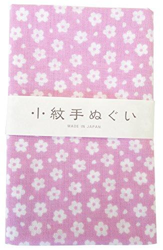 宮本 小紋手ぬぐい 薄桜 33×90cm 33234