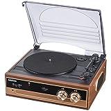 OHM Audio Commレコードプレーヤーシステム [品番]07-5754 RDP-B200N