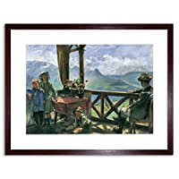 Painting Corinth Terrace Klobenstein Old Master Framed Wall Art Print