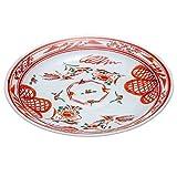 和食器 九谷焼 盛皿 赤絵 AK5-0337