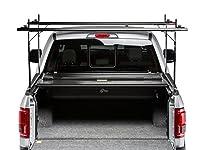 Bak Industries 26409tbt BakFlip CSハードFolding Truckベッドカバー/統合ラックシステムレールマウントは、レール上部の近くベッドレールLoweredブラケットドロップダウンを使用with CargoチャネルシステムBakFlip CSハードFolding Truckベッドカバー/統合ラックシステム