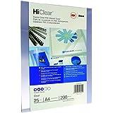 GBC BCP20CLR25 Binding Cover, A4 200 Micron Clear PK25