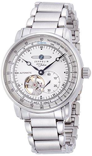 [ツェッペリン]ZEPPELIN 【300本限定モデル】腕時計 Special Edition 100 years Zeppelin アイボリー文字盤 自動巻 裏蓋スケルトン 7662-U1 メンズ 【正規輸入品】