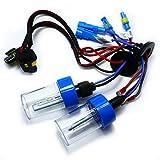 健勝 12V 35W/55W兼用 増強型 高輝度HIDバルブ 2本セット HIDバーナー 交換用 補修用 (3000K, H8/H9/H11兼用)