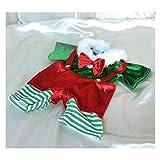■ダッフィー・シェリーメイ コスチューム■ダッフィー用 クリスマス風衣装■ S