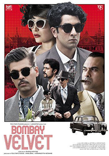Bombay Velvet Hindi DVD Stg:Ranbir Kapoor, Anushka Sharma, Karan Johar - 2015 Bollywood Film Cinama