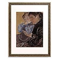 Wyspianski, Stanislaw,1869-1907 「Portrait der Zofia Zelenska mit ihrem Kind. 1905.」 額装アート作品