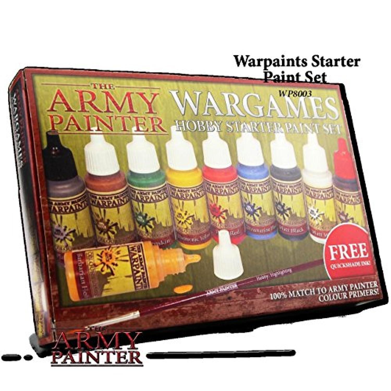 [アーミーペインター]The Army Painter Army Painter Wargame Starter Paint Set WP1136 [並行輸入品]