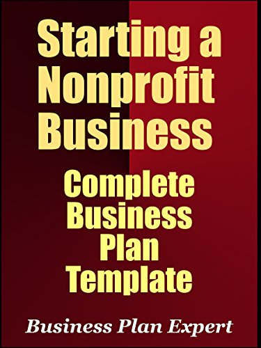 amazon starting a nonprofit business complete business plan