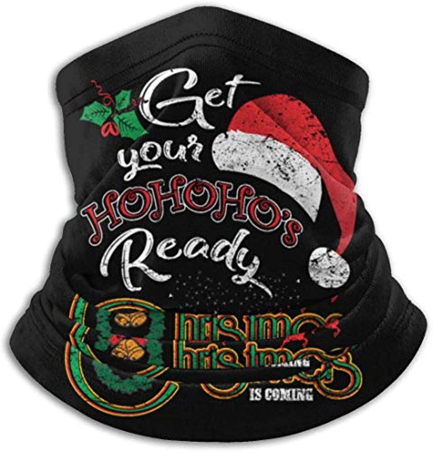 型すり減る微弱クリスマスホリデーシーズン ネック暖かいスカーフ サーマルネックスカーフ マイクロファイバーネックウォーマー ネックウォーマー マフラー 帽子 ヘッドバンド 秋冬 防寒 防風 キャップ 多機能 ネック ゲーター 男女兼用